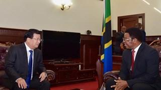 Vietnam, Tanzania agree to boost ties