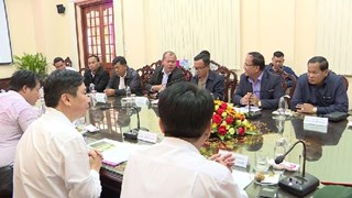 Dong Thap, Cambodia's Pray Veng province step up trade cooperation