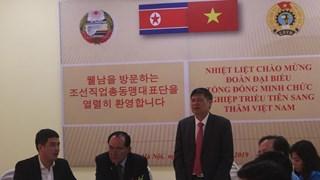 DPRK trade union delegation visits Ha Nam