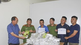 Dien Bien: three arrested for smuggling 50 kg of meth