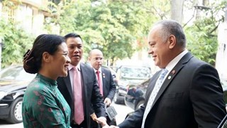 Vietnam, Venezuela tighten traditional friendship, solidarity