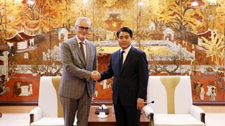 Hanoi treasures relations with German localities