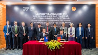 Hanoi boosts educational cooperation with New Zealand