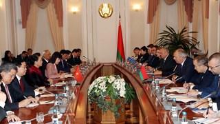 Top legislator meets with Belarusian Prime Minister