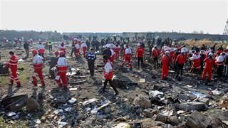 Top leader sends condolences over Ukraine plane crash