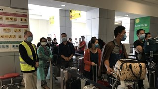 Nearly 310 Vietnamese citizens return home from Angola