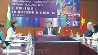 Vietnamese, Bulgarian enhance trade ties