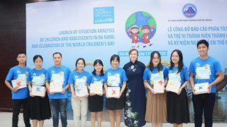 Da Nang: situation analysis of children, adolescents launched