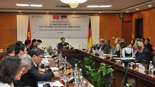 Vietnam-Germany joint committee on economic cooperation holds first meeting
