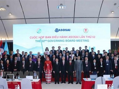 ASOSAI Governing Board meets in Hanoi