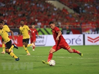 International media praises Vietnam's crushing victory over Malaysia