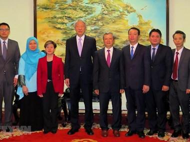 Singaporean Deputy PM visits Thua Thien-Hue