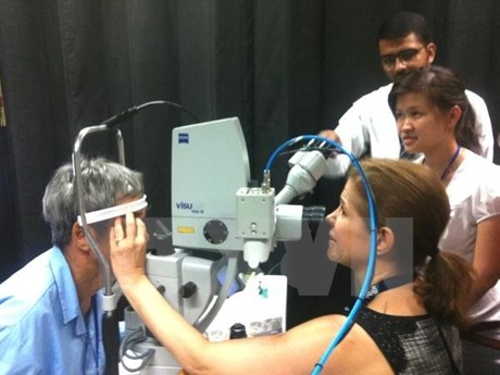 Orbis funds 1 million USD for eye care in Can Tho, Ca Mau