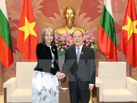 National Assembly Chairman greets Bulgarian Vice President