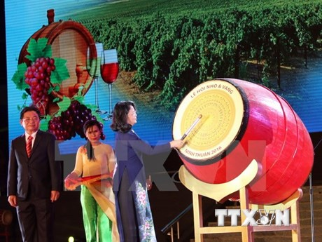 Grapes and Wine Festival opens in Ninh Thuan