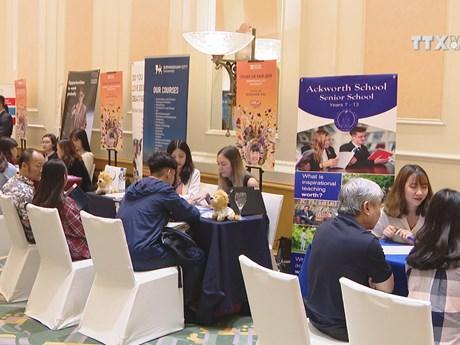 Connect the Dots 2019 Career Day kicks off | Videos | Vietnam+ (VietnamPlus)