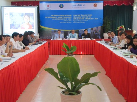UNICEF helps Ninh Thuan mitigate disaster risks