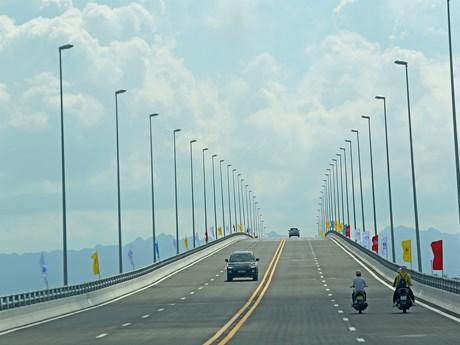 One of longest sea bridges in Southeast Asia opens in Hai Phong