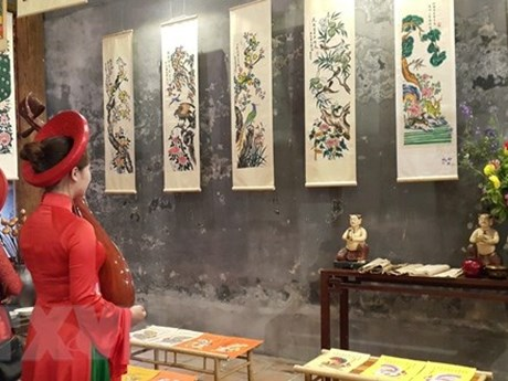 Exhibition of folk paintings opens in Da Nang