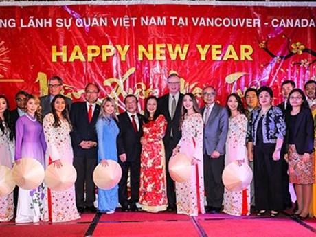Vietnamese in western Canada celebrate Tet holiday