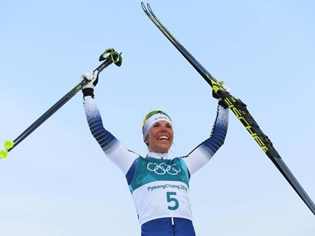 Swedish cross-country skier wins PyeongChang 2018's first gold medal