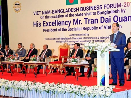 Firms of Vietnam, Bangladesh urged to create impetus for trade ties