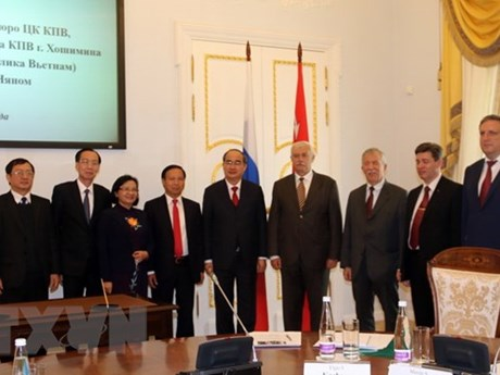 HCM City, St. Petersburg hold substantial cooperation potential