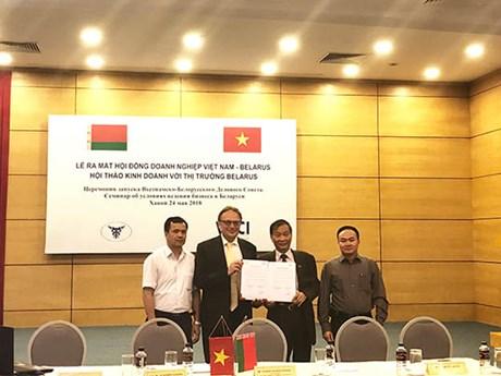 Vietnam-Belarus Business Council debuts