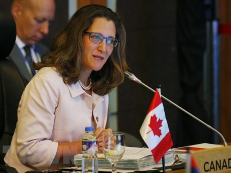 Canadian Foreign Minister affirms wish to enhance ties with ASEAN