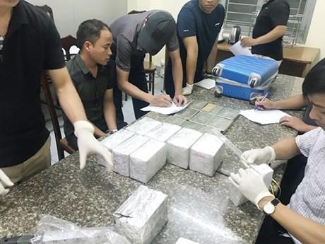 Hanoi police prosecute two men for illegal drug trafficking