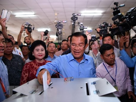 Congratulation to Cambodia on successful NA election