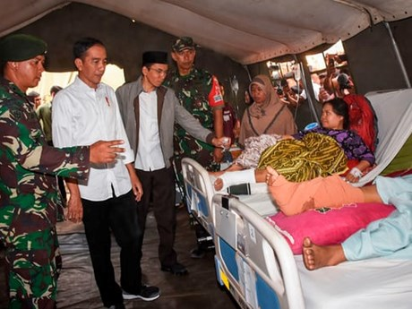Another earthquake hits Indonesia's Lombok island