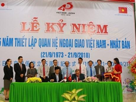 Vietnam-Japan diplomatic ties marked in Vinh Long