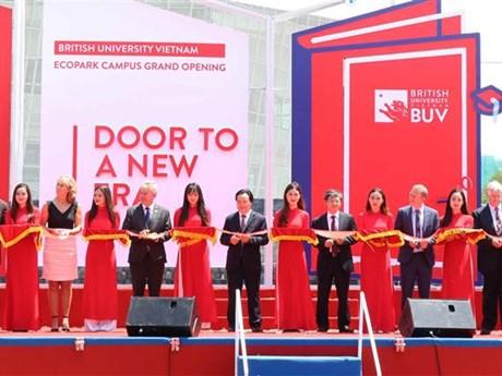 British University Vietnam's new campus inaugurated in Hung Yen