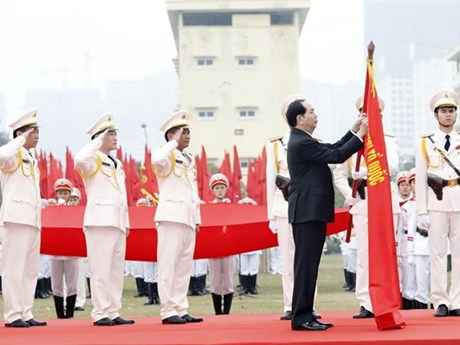 President Tran Dai Quang and the cause of security, social order