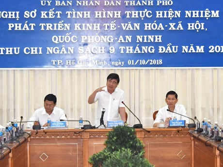 HCM City confident of fulfilling 2018 budget collection