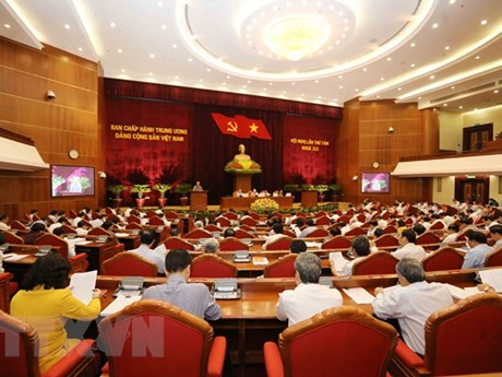 Fourth working day of Party Central Committee's 8th plenum
