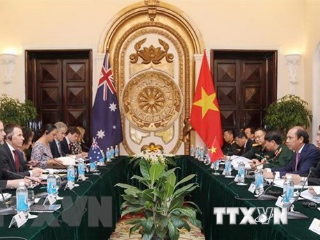 VN, Australia hold strategic dialogue on foreign affairs and defence