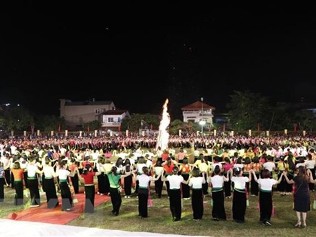 Thousands of tourists flock to Muong Lo Tourism-Culture Week