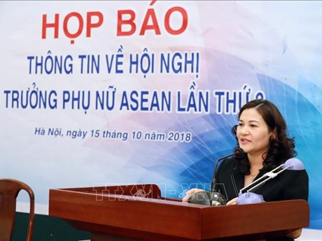 Third ASEAN ministerial meeting on women to be held in Hanoi