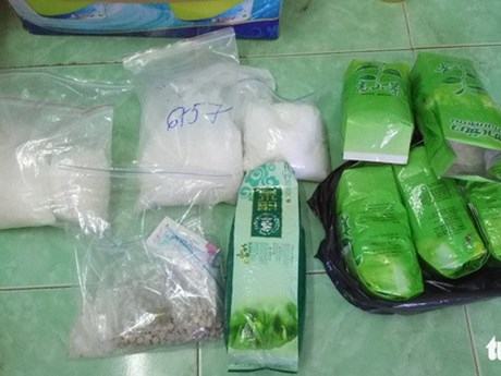 Tay Ninh authorities bust Cambodia-Vietnam drug trafficking ring