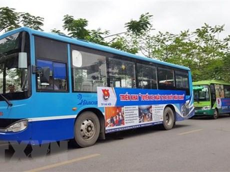 Hanoi bus company attracts more passengers