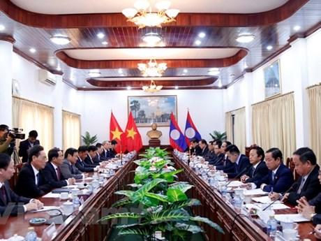 Vietnamese, Lao Party inspection agencies look to foster ties