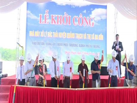 Modern waste treatment plant to be built in Quang Binh province