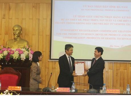 Ha Nam licenses 60 million-USD project