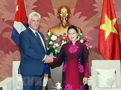 NA Chairwoman: Vietnam treasures friendship with Cuba