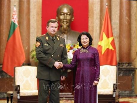 Vietnam, Belarus urged to make defence cooperation a highlight