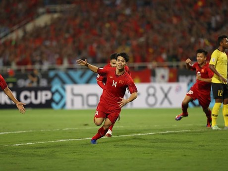 Vietnam defeats Malaysia 2-0 in AFF Suzuki Cup's Group A