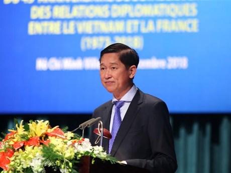 Ho Chi Minh City ceremony marks Vietnam-France diplomatic ties