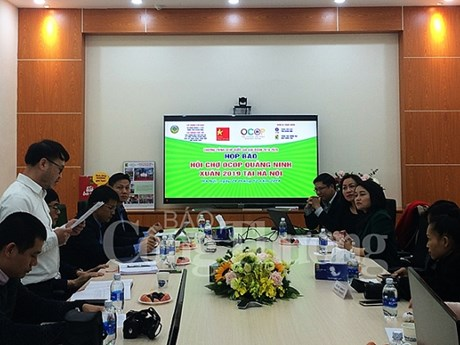 Quang Ninh province's staples to be introduced in Hanoi